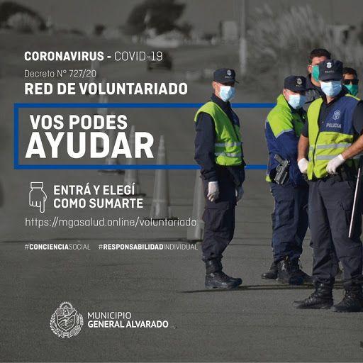 Registro de Voluntarios para la lucha contra el COVID-19