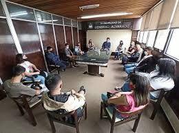 Ianantuony se reunió con jóvenes de la Asamblea Juvenil y el Consejo Local de Niñez y Adolescencia