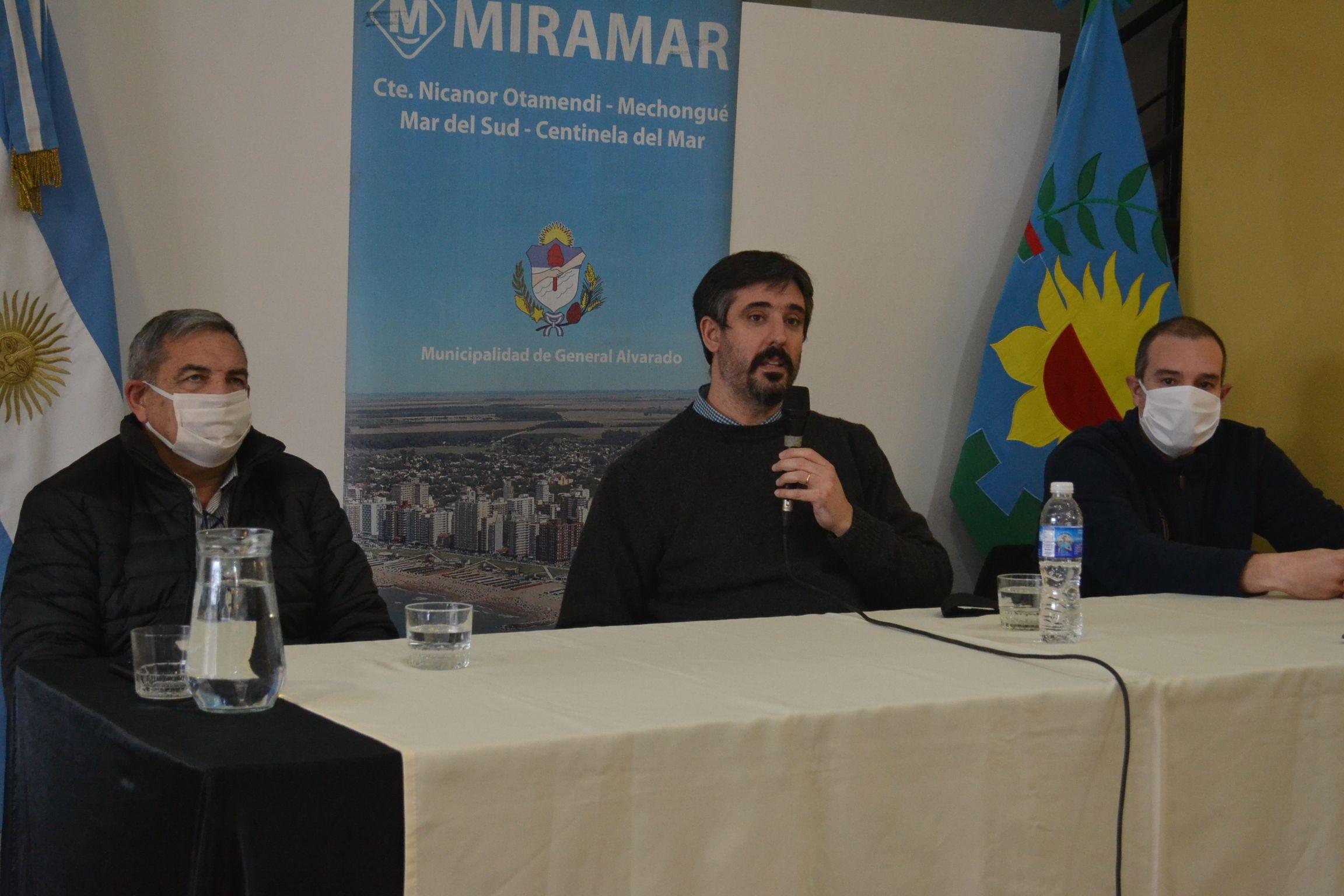 Se confirmó un caso positivo de COVID – 19 en Miramar.