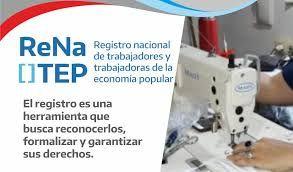 Registro Nacional de Trabajadores de la Economía Popular (ReNaTEP)