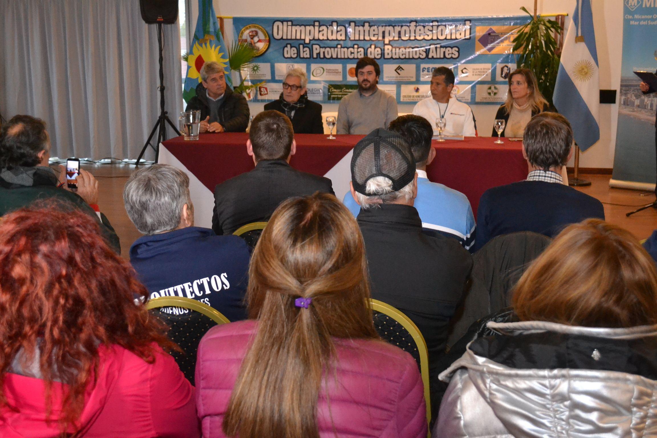 XV Olimpiadas Interprofesionales de la Provincia de Buenos Aires