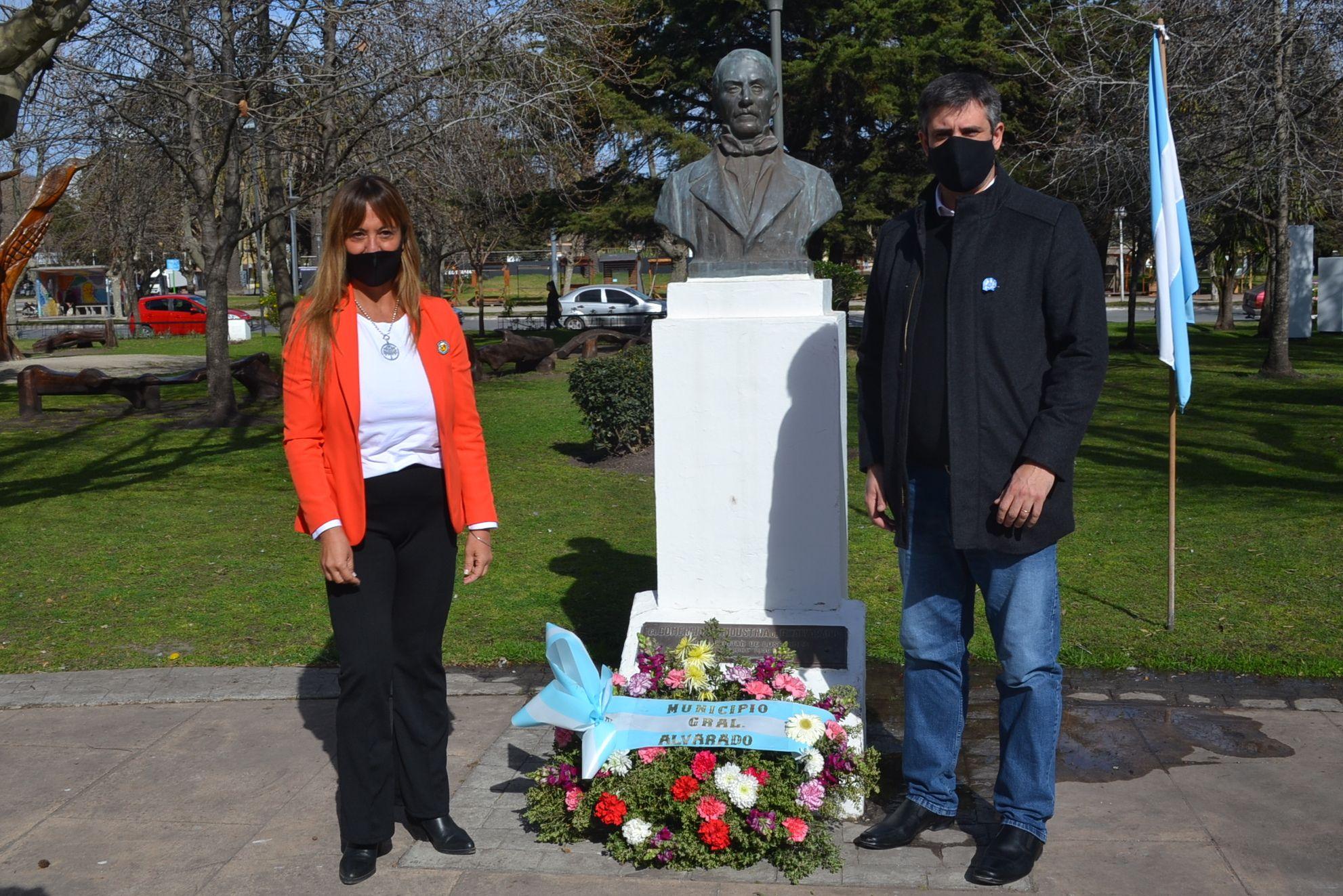 """171° Aniversario del fallecimiento del """"Padre de la Patria""""."""
