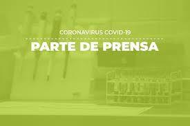 Parte COVID -19 del día 13 de Mayo