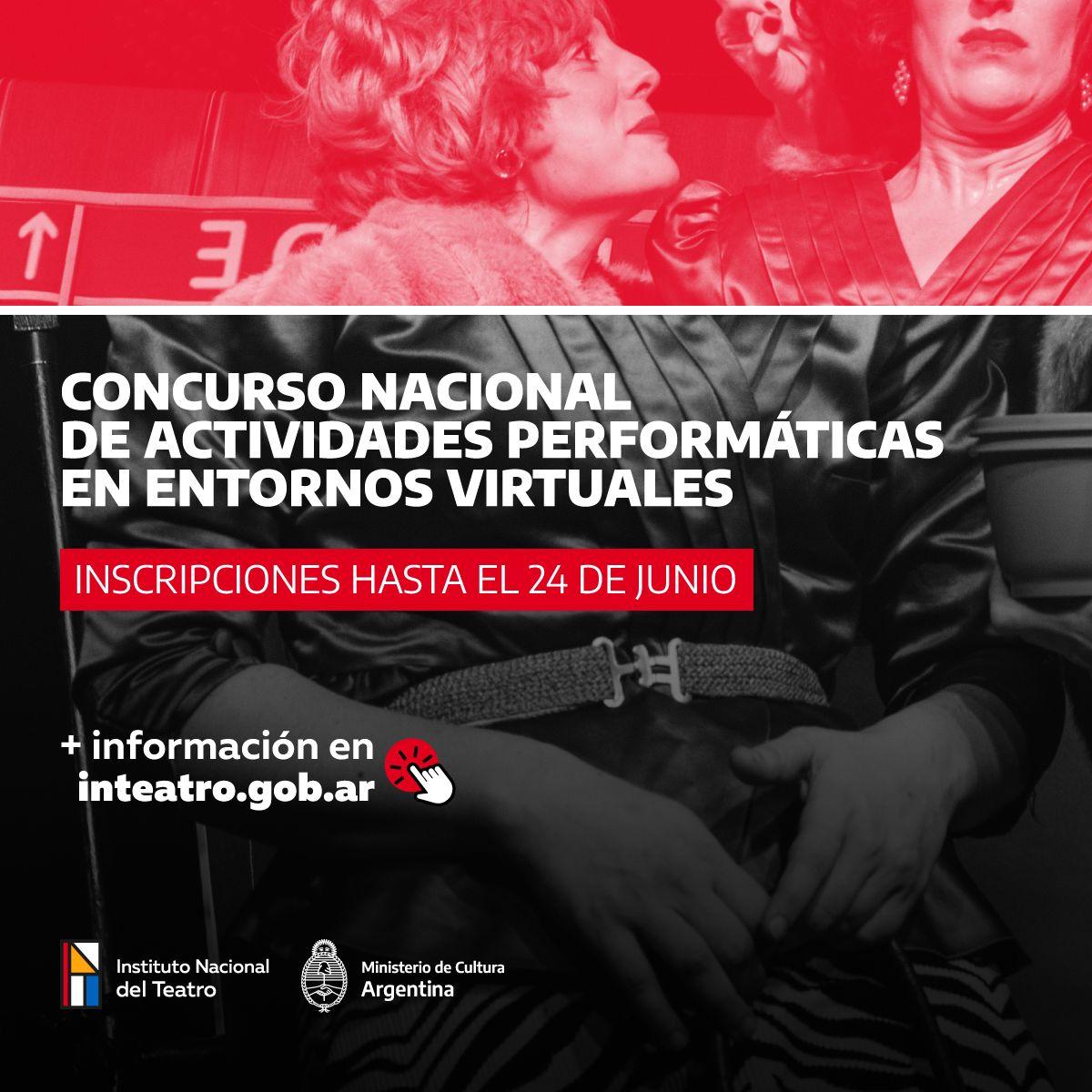 Concurso nacional de actividades Performáticas en entornos virtuales